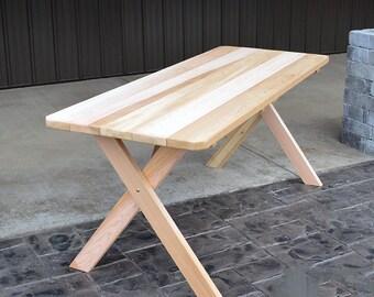 Red Cedar Crossleg 5ft. Outdoor Table
