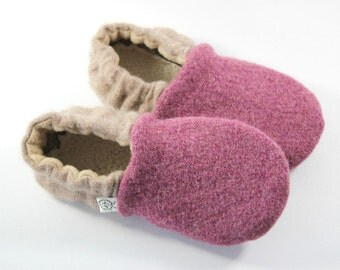 Classroom Shoes- Back to School- Mommy and Me- Gift for Girl- Felted Wool Slippers- Kids Pajamas- Gift for Daughter- Kids Slippers- Waldorf