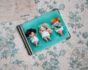 Women Money clip with fairies by Elina Ellis
