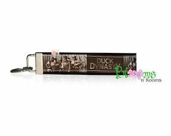Duck Dynasty wrist key chain key fob