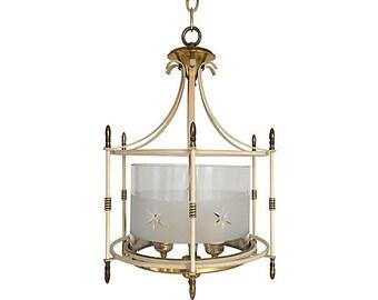 1940s Lantern Chandelier