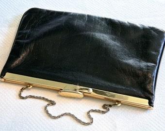 VINTAGE Black Hand Bag