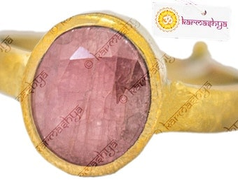 Adjustable Ruby Manikya Manik Finger Ring Gem Stone Premium Quality Ct Ratti RNG0003