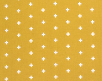WANDER by Joel Dewberry for Free Spirit Fabrics - Cross in Maize