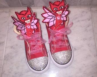 Custom Girls Pj Mask Converse