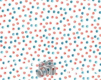 6ftx6ft Watercolor Patriotic Vinyl Photography Backdrop- 4th of July, Memorial Day, Red, White, & Blue Backdrops