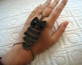 Owl Ring Bracelet