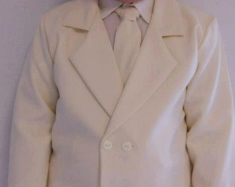 Baby Boy Clothes, Baptsm, Baby boy wedding suit ivory.