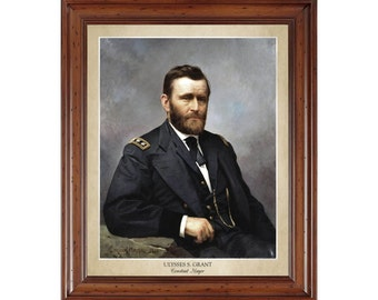 Ulysses S. Grant portrait by Constant Mayer; 16x20 print on premium photo paper displaying the artist's name