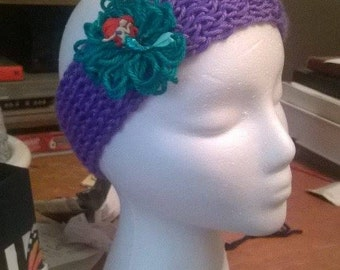 Little mermaid head wrap band