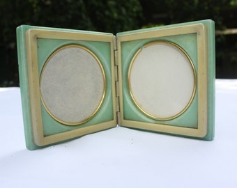 40ies photoframe, marble or such