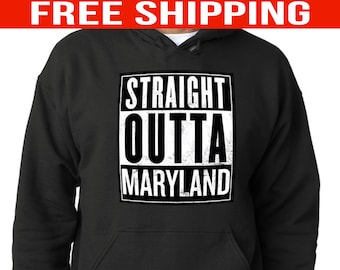Maryland Pullover Hoodie