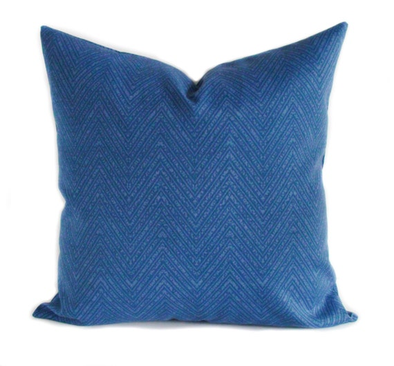 Throw Pillow Covers 20x20 : Blue outdoor pillow cover 20x20 Blue outdoor pillows