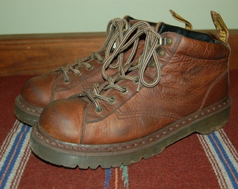 Men US 11 UK 10 Dr Martens Airware Brown Leather Boots