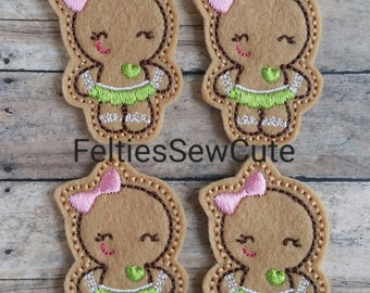 Cutie Gingerbread Girl
