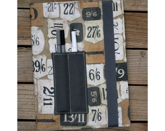 Composition notebook cover - Vintage numbers