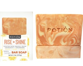 RISE + SHINE Soap Bar (Fresh OJ!)