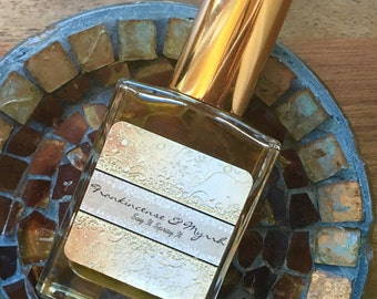 Moroccan Frankincense and Myrrh 1oz Perfume Spray, by Say It Spray It