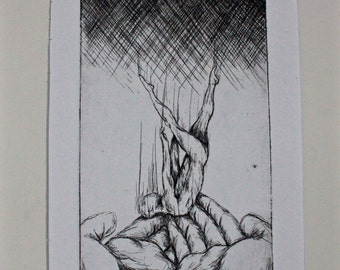 Faith of Icarus Etching Print