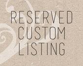 Reserved Listing fo Nada