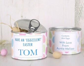 Easter Egg Tin
