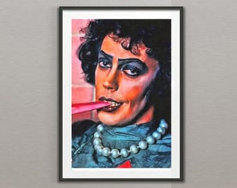 Tim Curry, Rocky Horror Picture Show Art Print