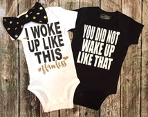 Twin Bodysuit,Baby Girl & Baby Boy Bodysuit Set, Brother and Sister Shirts, Brother Sister Bodysuit For Twins, Tops ONLY