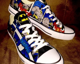 Batman Comic Converse