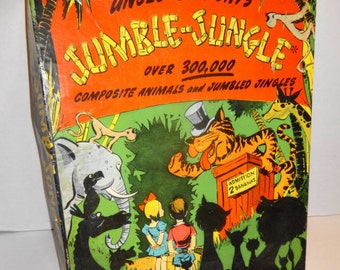 1942 Jumble Jungle Game by BF Jay