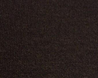 Black Sweatshirt Jersey Fabric-By-The-Yard