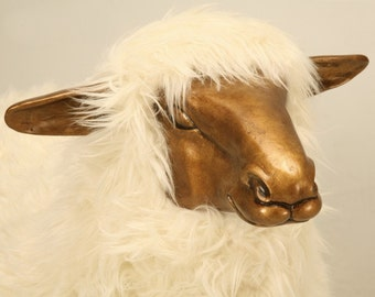 Claude Lalanne Sheep, in the Style of