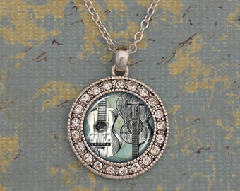 Guitar Artisan Necklace - OTGTR47283