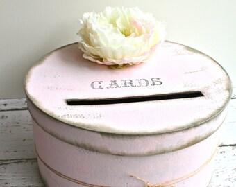Wedding Card Box, Advice Box, Rustic Card Box, Keepsake Box, Wedding Card Holder, Vintage Wedding Decor