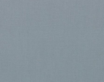Bella Solid Steel Grey Gray Solid Fabric Moda Fabrics by the half yard 100% Cotton Quilt Shop Quality