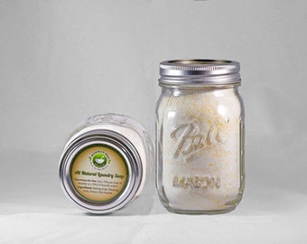 Homemade Laundry Detergent | Natural Detergent | Housewarming Gift for Mom | Cleaner Product | Eco Friendly Soap | Organic Cleaning Product