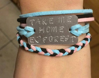Customizable Electric Forest Bracelet