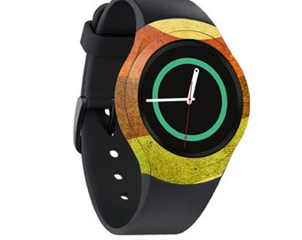 Skin Decal Wrap for Samsung Gear S2, S2 3G, Live, Neo S Smart Watch, Galaxy Gear Fit cover sticker Retro Stripes