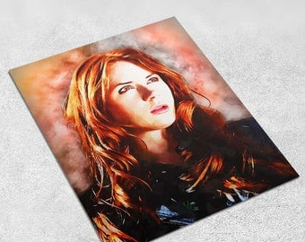 Doctor Who - Amy Pond - INSTANT DIGITAL DOWNLOAD Print Poster 8x10 inches