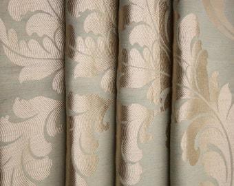 Custom Drapes, Curtain Ideas, Creative Window Treatments, Drape, Beautiful Fabric, Patterned Curtains, Window Curtains