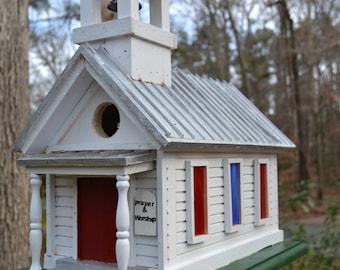 Beautiful Church Birdhouse