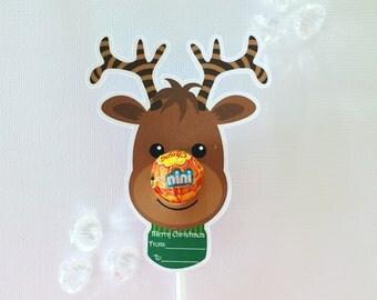 Reindeer mini size lollipop holders