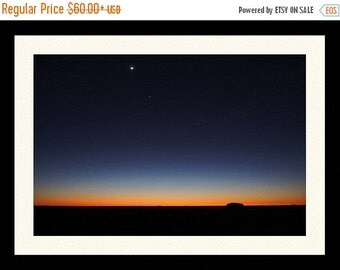ON SALE Evening Sky on the Plains Print Free Shipping in the USA