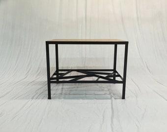 Reclaimed Chestnut Side Table