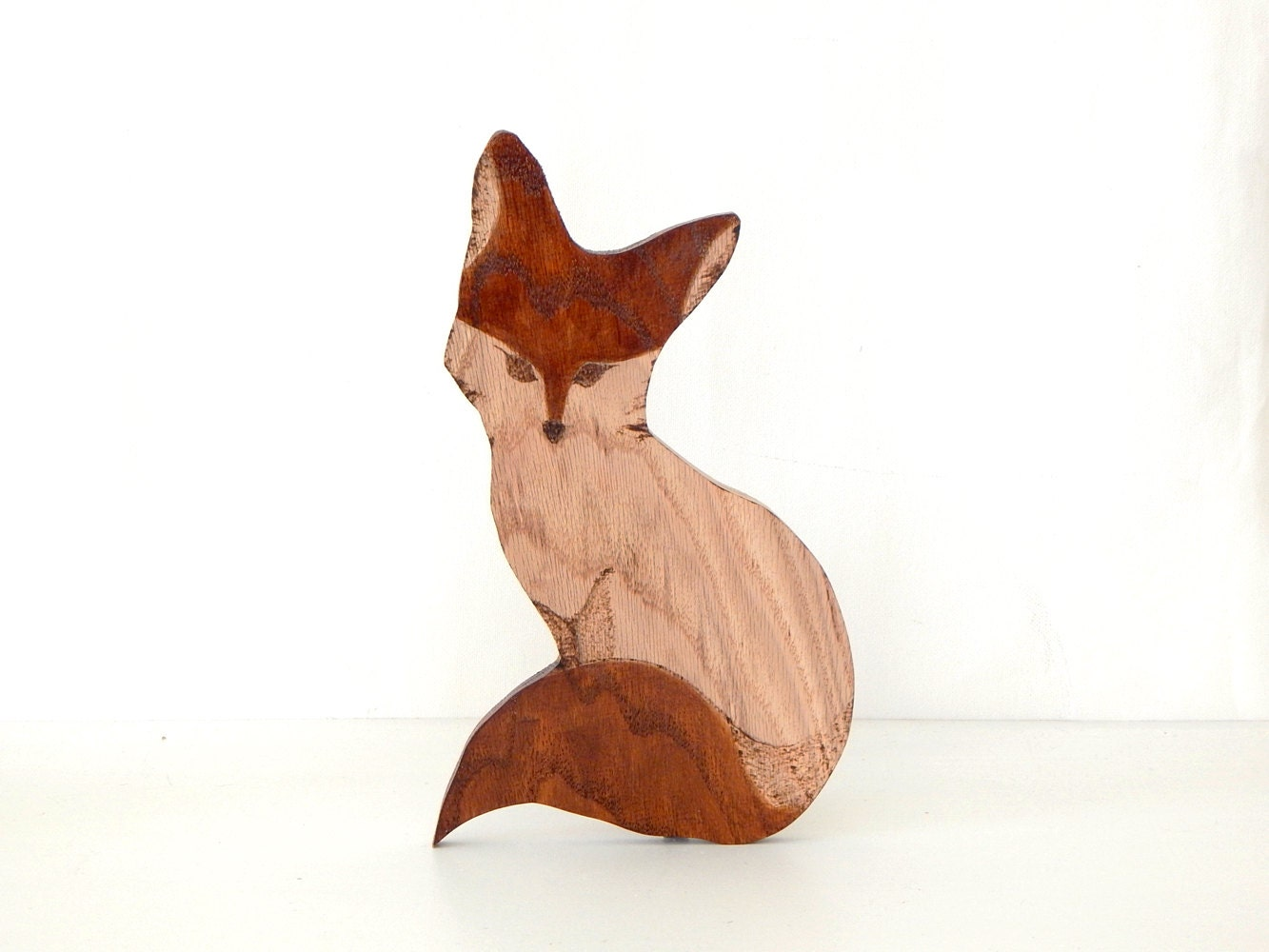 Wooden Fox Decor Fox Home Decor Wooden Animal Fox Wall