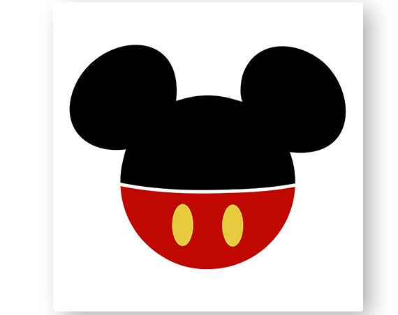 Disney Mickey Mouse Icon Minnie Mouse Head Mouse Ears