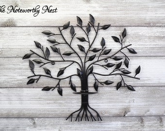ANY COLOR // Candle Tree Wall Art // Tree Wall Candle Holder //
