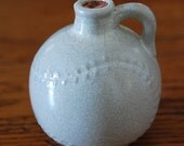 Antique UHL Pottery Baseball Miniature Jug