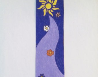 Tangled Sun Bookmark