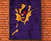 Minimalism Art - Batgirl ...