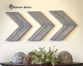 Arrow Wall Art, Chevron, Arrow Wall Décor, Rustic Wall Décor, Arrow, Wood Wall Art, Rustic Arrow, Wood Chevron, Wooden Arrow, Gray Chevron